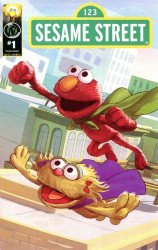 APE Entertainment's Sesame Street Issue # 1f