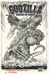 IDW Publishing's Godzilla: Rulers of the Earth Issue # 18ri