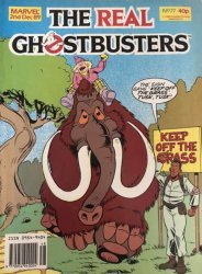 Marvel UK's The Real Ghostbusters Issue # 77