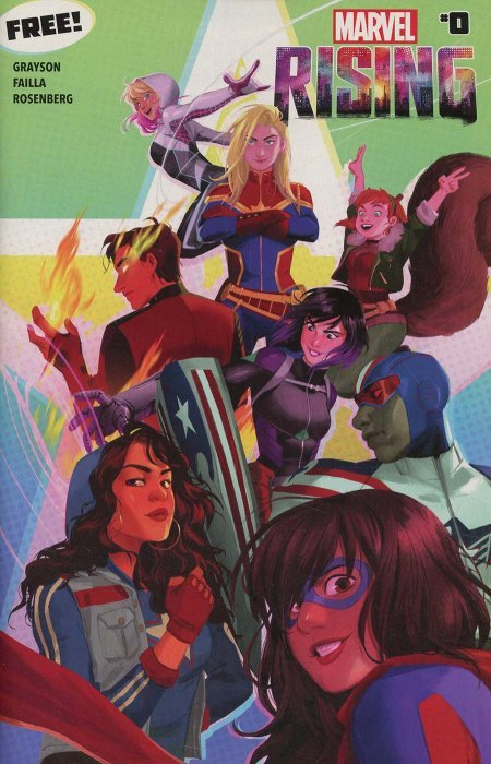 Marvel´s Rising #0 (Marvel Comics)