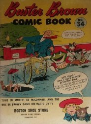Buster Brown Shoes's Buster Brown Comics Issue # 34boston