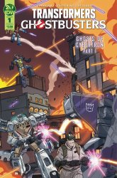 IDW Publishing's Transformers / Ghostbusters Issue # 1