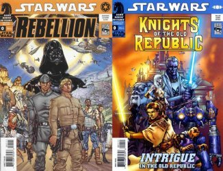 Dark Horse's Star Wars: Knights of the Old Republic/Rebellion Issue # 0