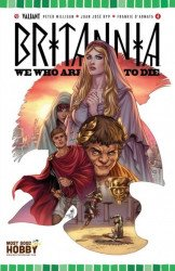 Valiant Entertainment's Britannia: We Who are About to Die Issue # 4most good hobby