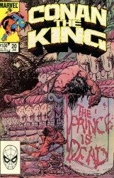 Marvel Comics's Conan the King Issue # 20
