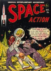 Ace Magazines's Space Action Issue # 3
