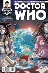 Titan Comics's Doctor Who: 10th Doctor Year Two Issue # 10c