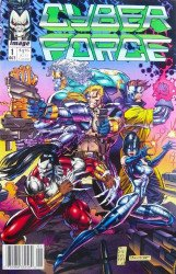 Image Comics's Cyberforce Issue # 1c
