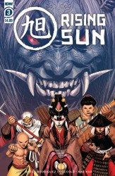 IDW Publishing's Rising Sun Issue # 3