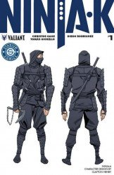 Valiant Entertainment's Ninja-K Issue # 1stadium
