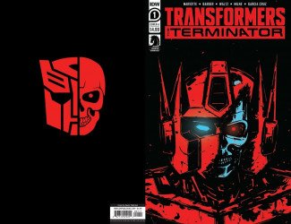 IDW Publishing's Transformers vs. Terminator Issue # 1