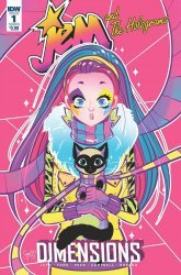 IDW Publishing's Jem and The Holograms: Dimensions Issue # 1b