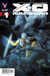 Valiant Entertainment's X-O Manowar Issue # 1