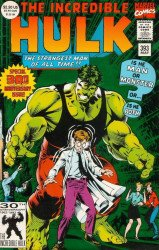 Marvel Comics's Incredible Hulk Issue # 393