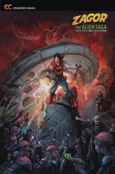 Epicenter Comics's Zagor: The Alien Saga Soft Cover # 1