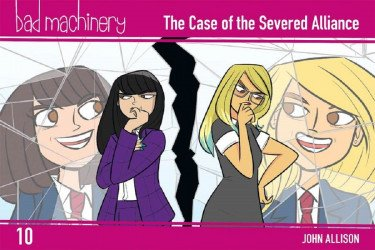 Oni Press's Bad Machinery Soft Cover # 10