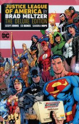 DC Comics's Justice League of America by Brad Meltzer Hard Cover # 1