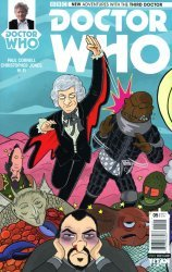Titan Comics's Doctor Who: 3rd Doctor Issue # 5e