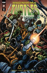 IDW Publishing's Teenage Mutant Ninja Turtles: Urban Legends Issue # 21ri