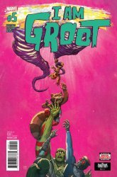 Marvel Comics's I Am Groot Issue # 5