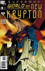 DC Comics's Superman: World of New Krypton Issue # 4b