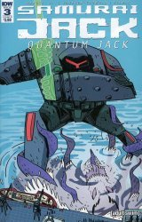 IDW Publishing's Samurai Jack: Quantum Jack Issue # 3b
