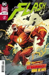 DC Comics's The Flash Issue # 54