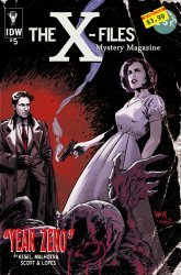 IDW Publishing's The X-Files: Year Zero Issue # 5sub