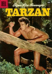 Dell Publishing Co.'s Tarzan Issue # 91