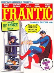 Marvel UK's Frantic Special summer