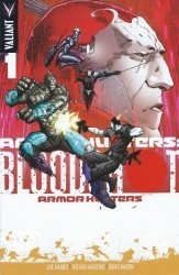 Valiant Entertainment's Armor Hunters / Bloodshot Issue # 1d