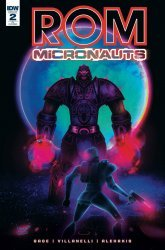 IDW Publishing's ROM and The Micronauts Issue # 2ri