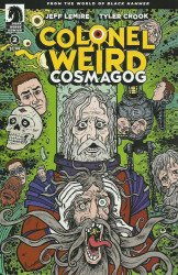 Dark Horse Comics's Colonel Weird: Cosmagog Issue # 2b