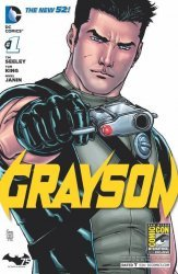 DC Comics's Grayson Issue # 1e