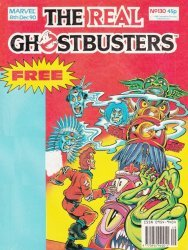 Marvel UK's The Real Ghostbusters Issue # 130