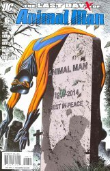 DC Comics's Last Days of Animal Man Issue # 6