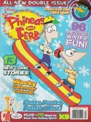 Disney Worldwide Publishing's Phineas and Ferb Special # 2012