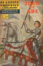 Gilberton Publications's Classics Illustrated #78: Joan of Arc Issue # 10