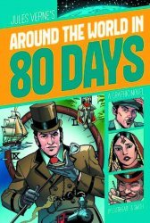 Stone Arch Press's Around The World In 80 Days Soft Cover # 1