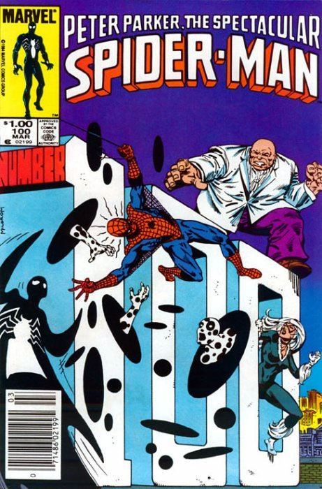 Spectacular Spider-man 80   Marvel 1983