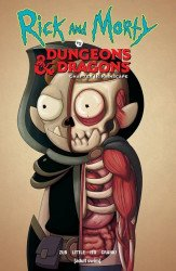 Oni Press's Rick and Morty vs Dungeons & Dragons: Chapter II - Painscape TPB # 1oni press