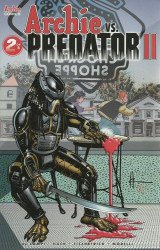 Archie Comics Group's Archie vs Predator 2 Issue # 2b