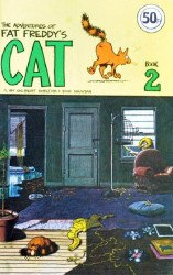 Hassle Free Press's Adventures of Fat Freddy's Cat Issue # 2