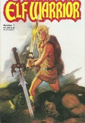 Adventure Publications Comics's Elf Warrior Issue # 1
