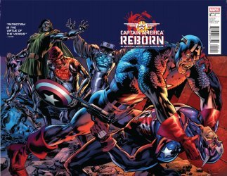 Marvel Comics's Captain America: Reborn Issue # 5
