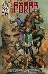 Top Cow's Cyberforce Issue # 1