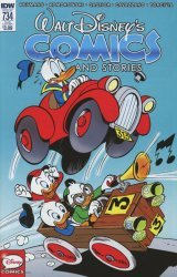 IDW Publishing's Walt Disney's Comics and Stories Issue # 734sub