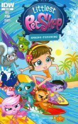 IDW Publishing's Littlest Pet Shop: Spring Cleaning Issue # 1