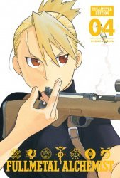 Viz Media's Fullmetal Alchemist Hard Cover # 4