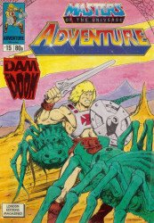 London Editions Magazines's Masters of the Universe Adventure Issue # 15